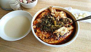 渭南美食豆腐泡